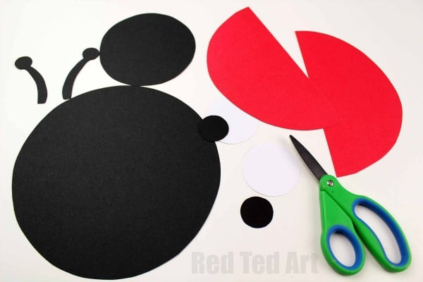 Paper Weaving Ladybug Project - Red Ted Art\'s Blog