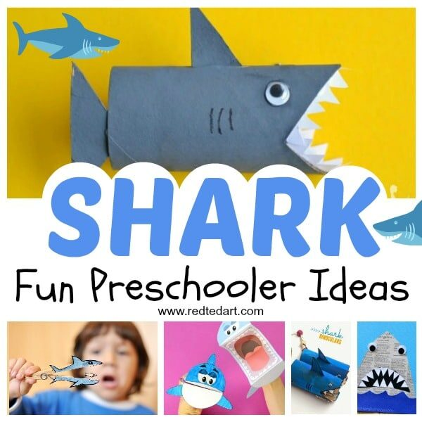 Fun SHark Crafts