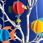 3D Paper Fish Decoration