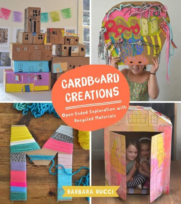 cover of cardboard creations kids book