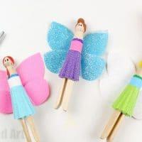 Unicorn Peg Doll Fairies