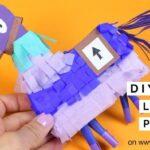 DIY Fortnite Llama Pinata