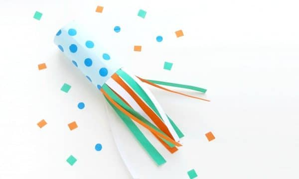 Preschooler Blower Craft for India Republic Day