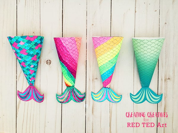 This is an image of Decisive Mermaid Tail Printable