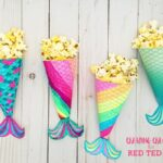 Mermaid Movie Night Printable Popcorn Holder