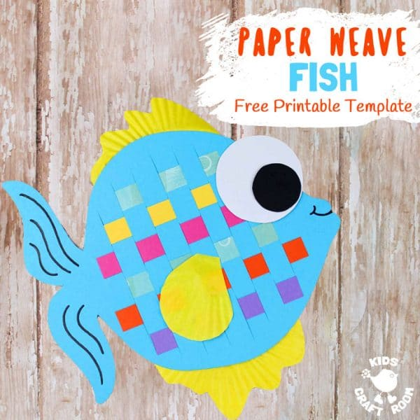 Diy paper fish crafts red ted arts blog need some paper fish templates try these maxwellsz