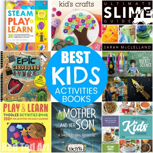 Best Kids Activities Books! Here is the latest set of fantastic Kids Activities Book to keep you busy all year round! #kidsactivities #books #summer #giftideas