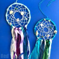 DIY Mermaid Dreamcatcher