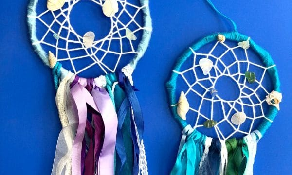 DIY Mermaid Dreamcatcher