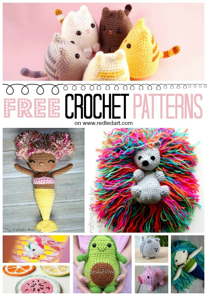 amigurumi crochet patterns free download - Salvabrani - Salvabrani ... | 1000x700