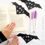 Simple Bat Corner Bookmark
