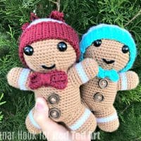 Free Gingerbread Man Crochet Pattern for Christmas
