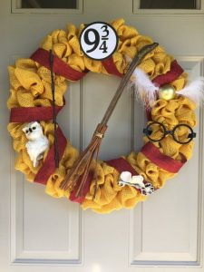 Harry Potter Christmas Decorations Red Ted Art