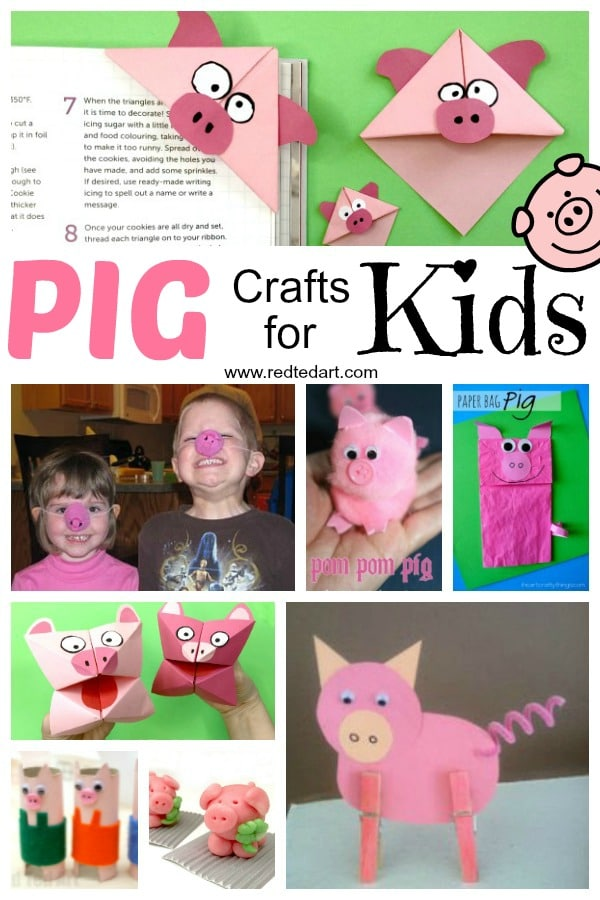 Year Of The Pig Crafts For Kids Red Ted Arts Blog