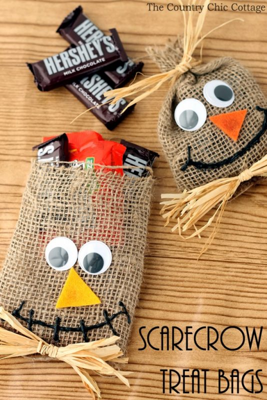 We love Scarecrow Treat Bags
