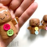 Cork Gingerbread Man Ornament
