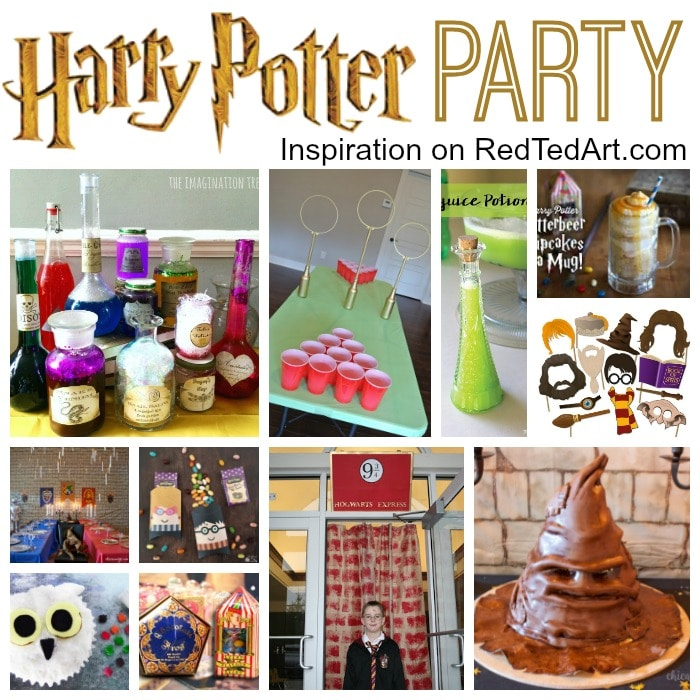 DIY Harry Potter Party Ideas
