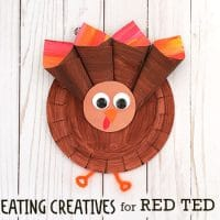 Paper Plate Turkey For Preschoolers