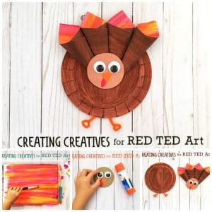 Easy Paper Plate Turkey