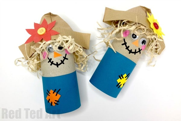 preschool toilet primary school easy toilet paper roll scarecrow for preschool fun with rolls harvest festival preschool red ted arts blog