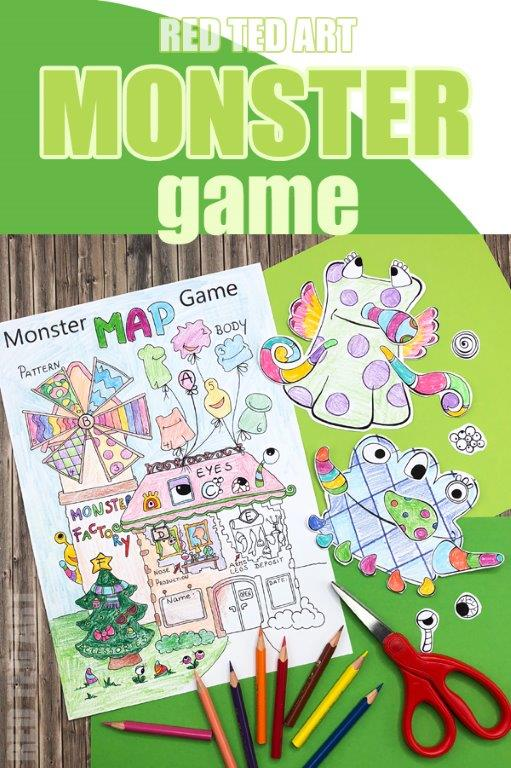 Build a Monster Game - learn about patterns, colours and numbers with this free Learning Resources Monster Game