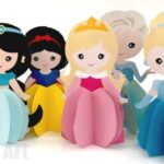 Paper Disney Doll DIY – Princess Printables