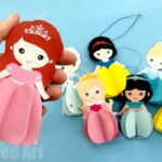 Paper Ariel Doll Ornament