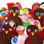 Cardboard Turkey Craft for Preschoolers