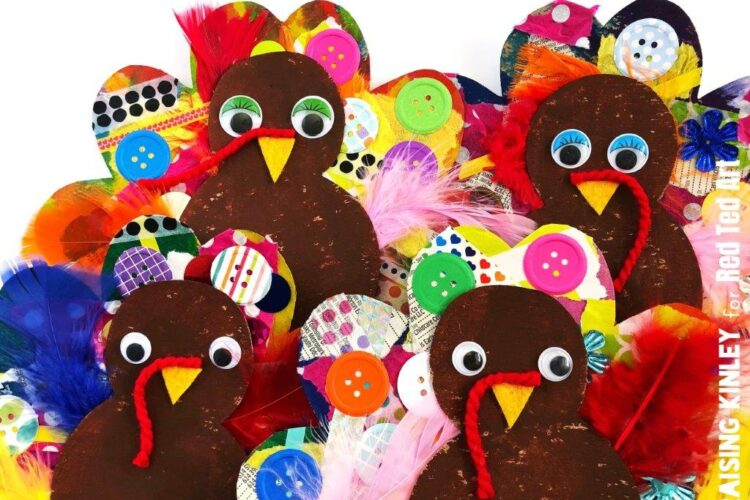 Cardboard Turkey crafts