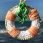 Christmas Lifebuoy Crochet Pattern