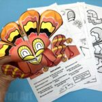 Thanksgiving Turkey Cootie Catcher
