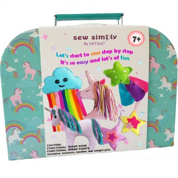 """Some fantastic Christmas Gifts for Crafty Kids! This crafty gifts are a great way to nuture creativity, develop craft skills and avoid """"just"""" toys this Christmas"""