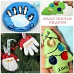 Christmas Salt Dough Ornaments for Kids