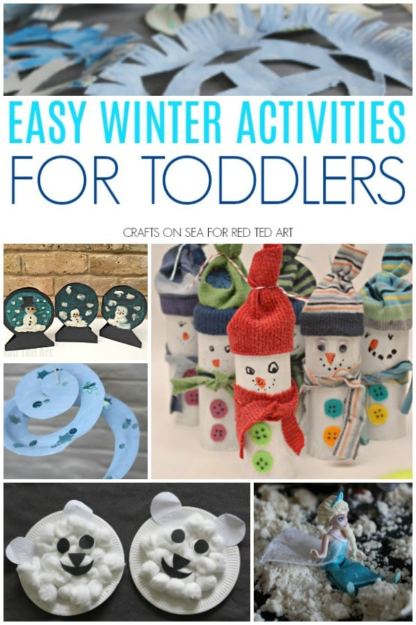 Easy Winter Activities For Toddlers Red Ted Art