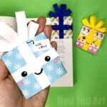 Christmas Gift Bookmark Corner