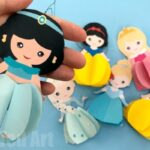 Paper Jasmine Doll Ornament