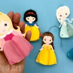 Paper Aurora Doll Ornament