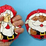 Paper Santa Squishy DIY