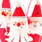 Paper Santa Lantern