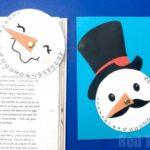 Countdown Snowman Printable Craft