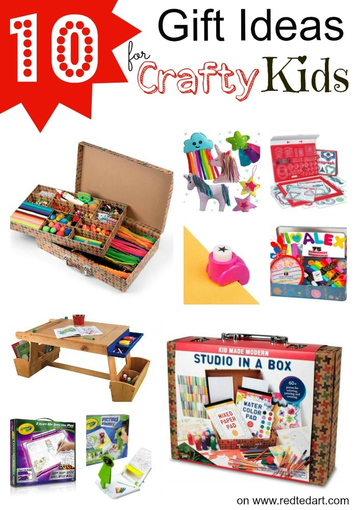 "Some fantastic Christmas Gifts for Crafty Kids! This crafty gifts are a great way to nuture creativity, develop craft skills and avoid ""just"" toys this Christmas"