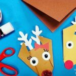 Easy Origami Reindeer for Preschool