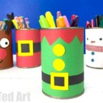 DIY Elf Desk Tidy & Pencil Pot