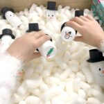DIY Snowman Snap Game