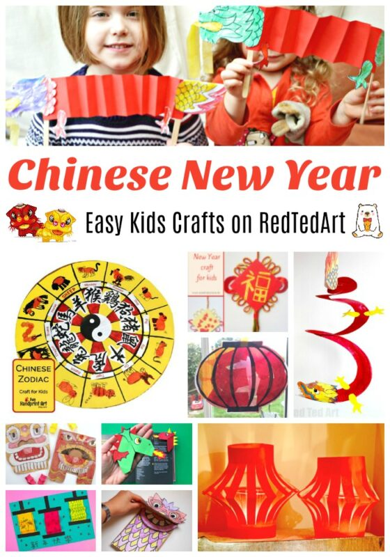 Great Chinese New Year's Ideas for Kids