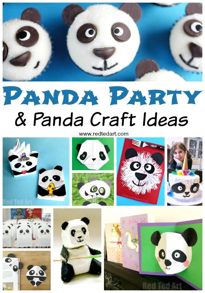 Must Try Easy Panda Crafts for Kids. How to make a panda. Paper Panda Crafts. Panda party ideas. Pandacorn ideas. Pandacorn crafts. Panda cake. Panda Card DIY. #Panda #crafts #party #pandacorn
