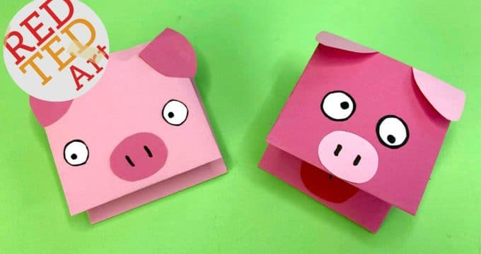 Hand Pig puppet