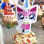 THE LEGO MOVIE 2: BUNTING AND CUPCAKE TOPPERS