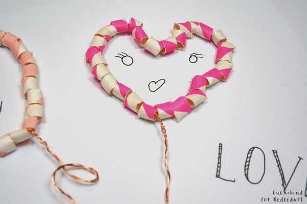 3 Fun Straw Crafts For Valentine S Day Red Ted Art S Blog