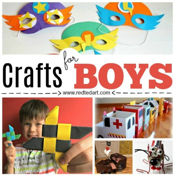 Easy Corner Bookmarks for Boys. Fun Bookmark Designs that boys will love. From Minecraft, to Sponge Bob to Flag Bookmarks and more. Paper Crafts for Boys!